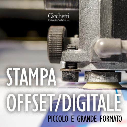 Cicchetti Stampa Digitale e Offset piccolo e grande formato
